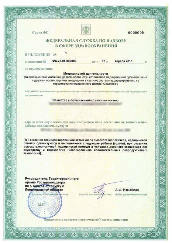 документы на персонал для лицензирования медицинской деятельности